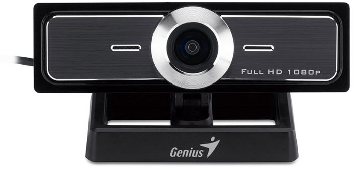 Genius Widecam F100, Ultra Wide FHD Webcam with microphone