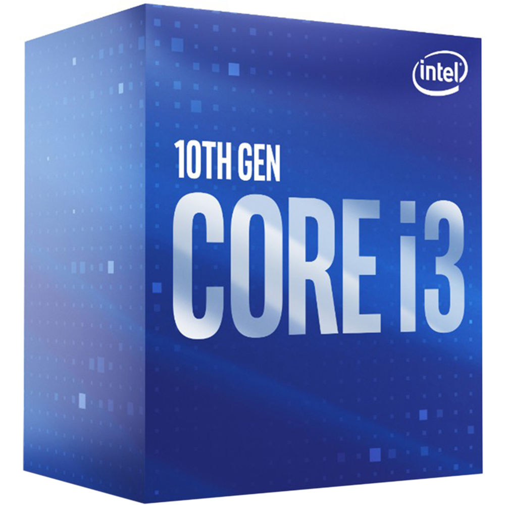 Intel Core i3 10100 3.6/4.3GHz, 4 Core, 6MB Cache, LGA1200