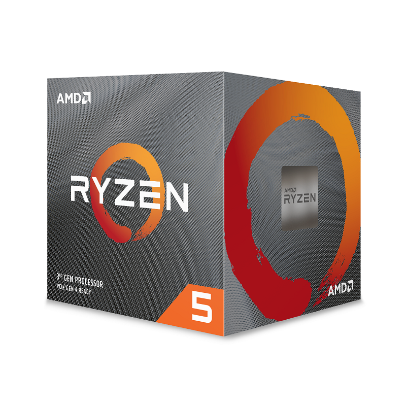 AMD Ryzen 5 3400G 4-Core AM4 3.7GHz, Wraith Spire Cooler