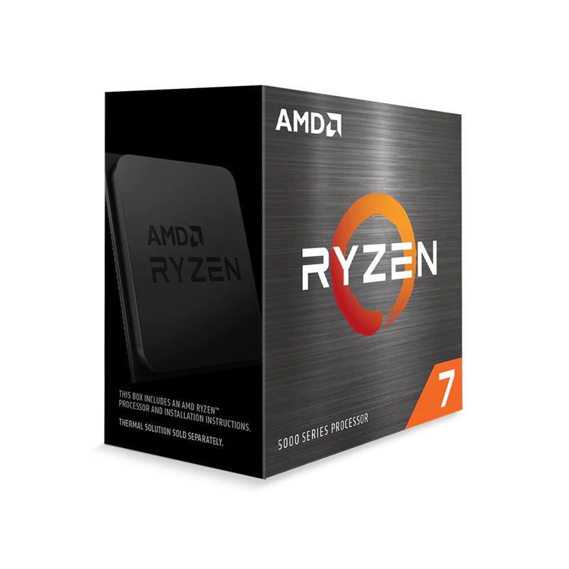 AMD Ryzen 7 5800X 8-Core AM4 3.8GHz, No Fan, No VGA