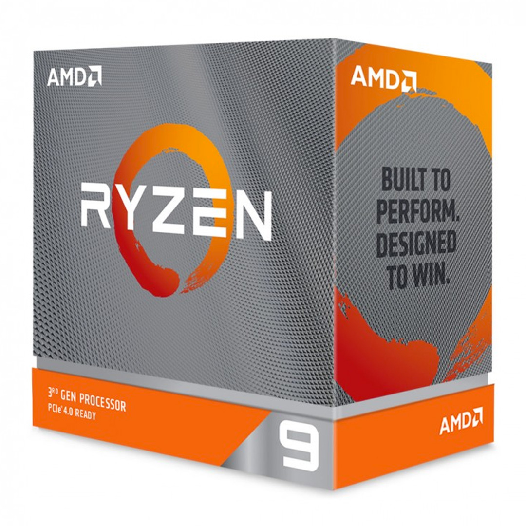 AMD Ryzen 9 3950X 16-Core AM4 3.5GHz, No Fan, No VGA