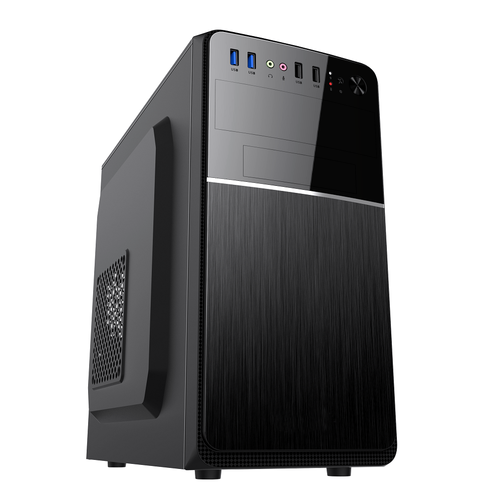 Axceltek AM-300 Mini tower case with 500W PSU