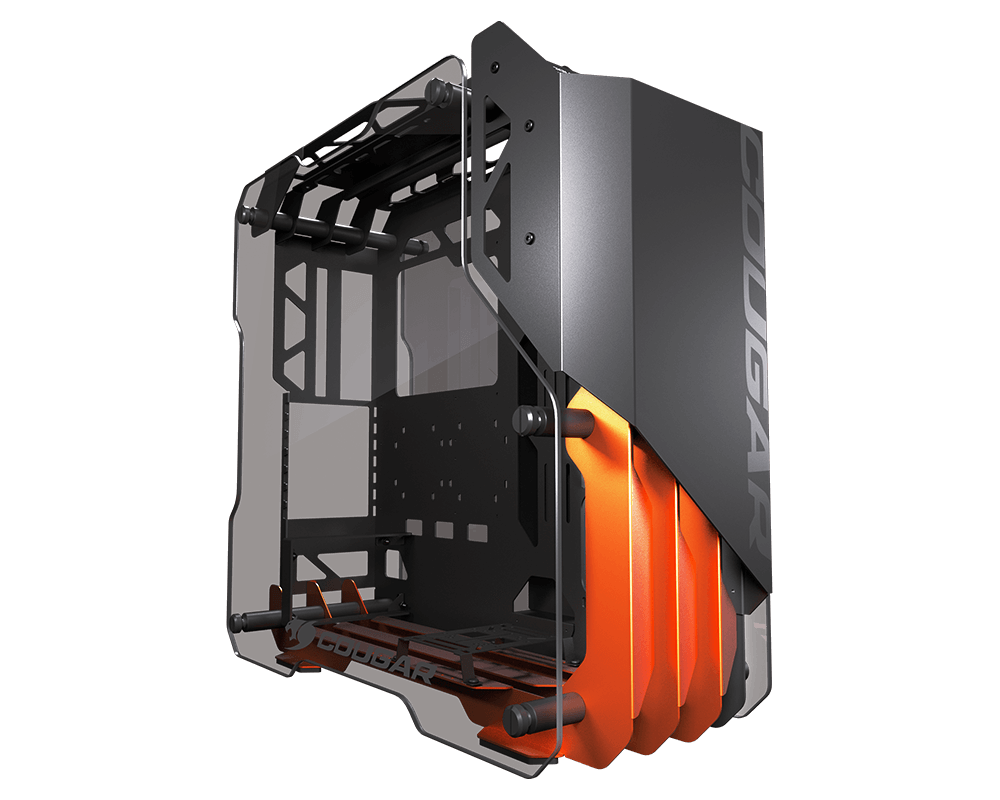 Cougar Blazer Aluminum Open-frame Gaming Mid Tower