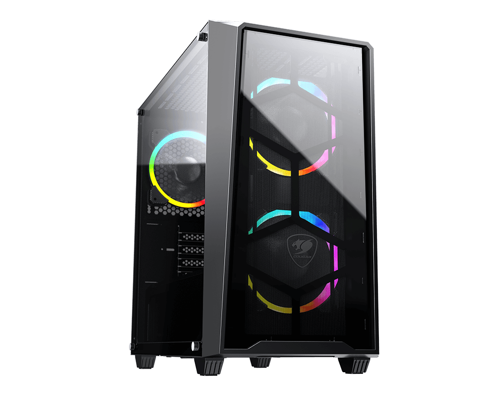 Cougar MG120-G-RGB mini tower tempered glass ARGB case