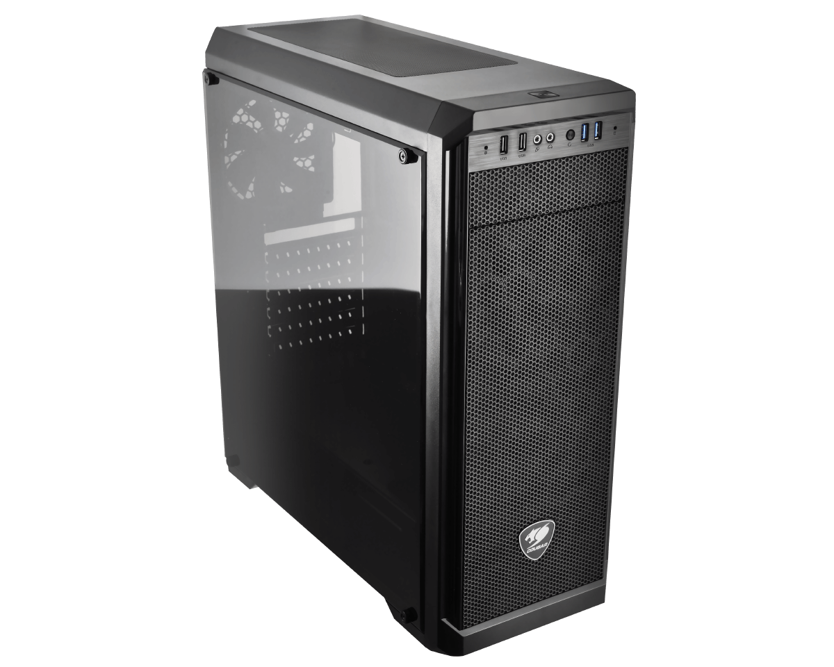 Cougar MX330 MIDI Tower with Full Acrylic Window