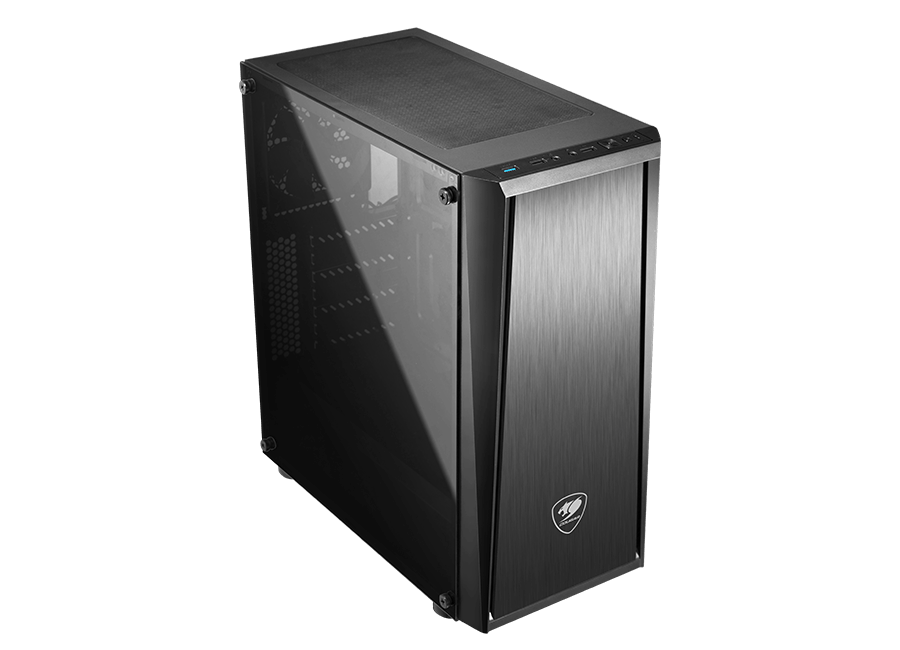 Cougar MX340 Tempered Glass Midi Tower Case