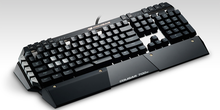 Cougar 700K Mechanical Keyboard (Cherry Black, LED, Macro)