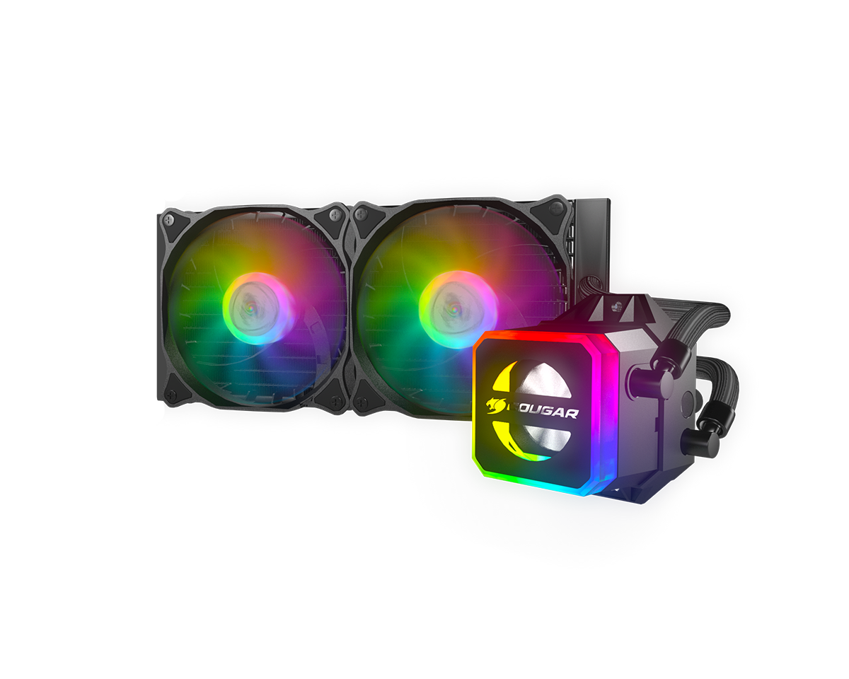 Cougar Helor 240 RGB AIO Refillable Water Cooling Kit