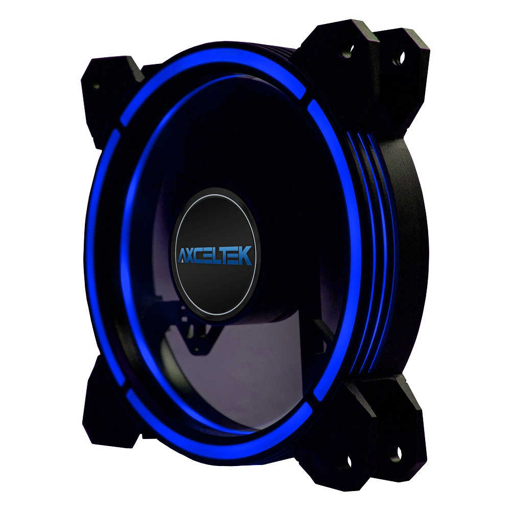 Axceltek F120-BLUE 120mm Blue LED Fan