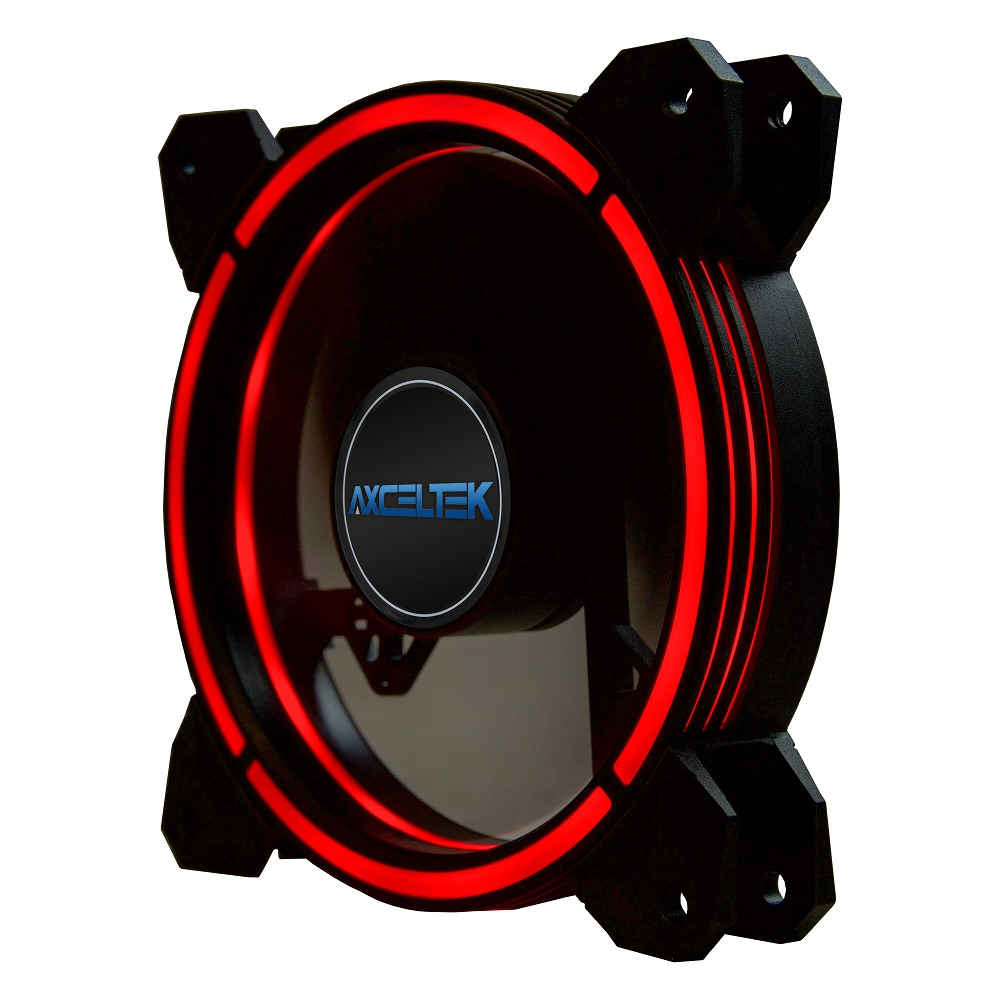 Axceltek F120-RED 120mm Red LED Fan