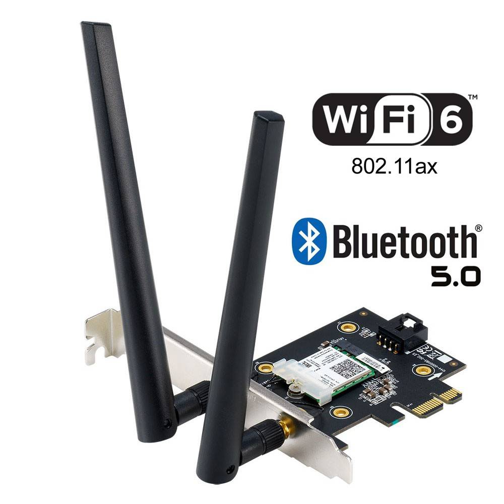Asus PCE-AX3000 (OEM) AX3000 WiFi 6 PCIe Card with Bluetooth