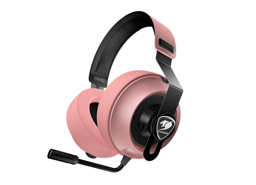 Cougar Phontum Essential PINK Gaming Headset (40mm Driver)