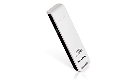 TP-LINK (TL-WN721N) 150M Wireless-N USB Adapter With Antenna