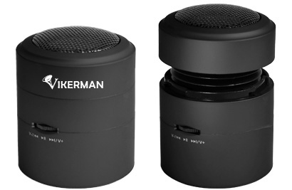 Vikerman Resonance Speaker VK-C01, 10W, Micro SD (Black)