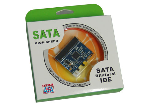 Generic IDE to SATA or SATA to IDE Adaptor